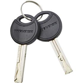 Trelock FS 200/75 TWO.GO Folding Lock 75 cm, pink